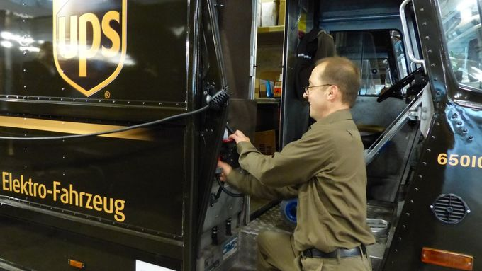 UPS, Elektrofahrzeug UPS P80