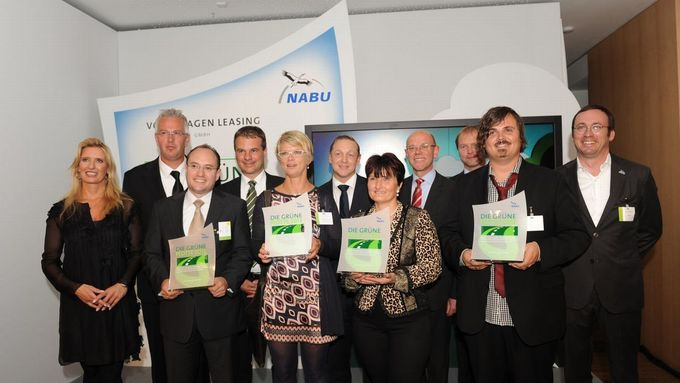 Umweltpreis Grüne Flotte, 2012, Gruppenbild