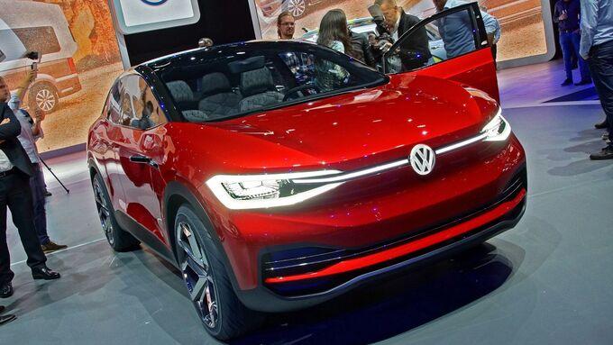 VW I.D. Crozz II IAA 2017