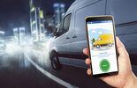 Vanlinc ist die Telematik-Lösung von Astrata speziell für leichte Nutzfahrzeuge.