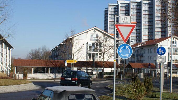 Vorfahrtsschild, Vorfahrt, Kreisverkehr