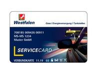 Westfalen Service Card